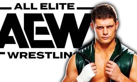 Cody Rhodes AEW All Elite Wrestling
