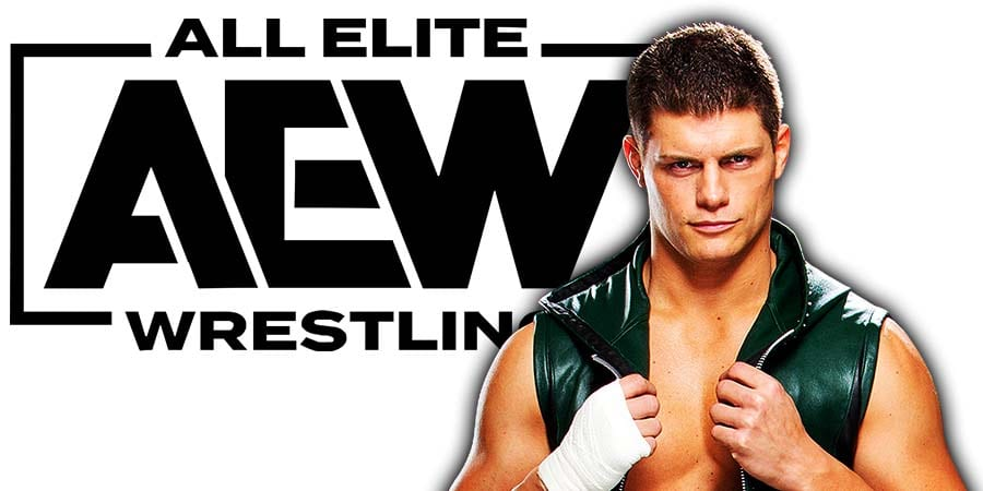 Cody Rhodes AEW All Elite Wrestling