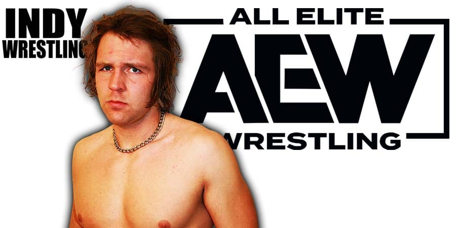 Dean Ambrose AEW All Elite Wrestling