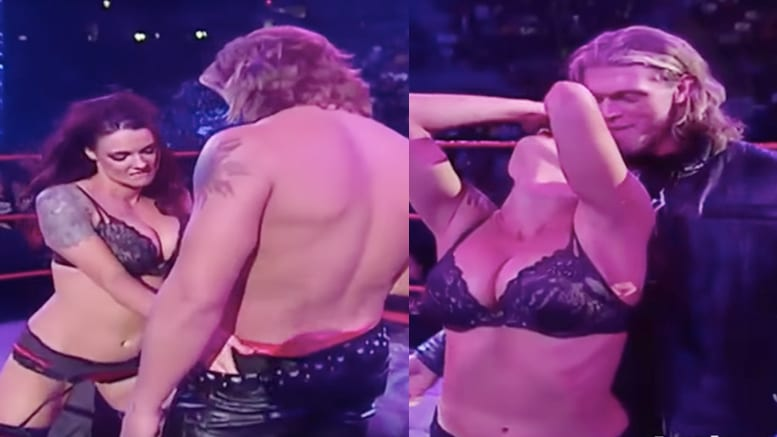 Edge-Lita Live Sex Celebration: WWE Star Wanted to Recreate The Scene 1