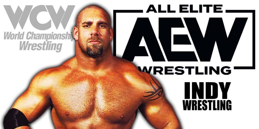 Goldberg AEW All Elite Wrestling