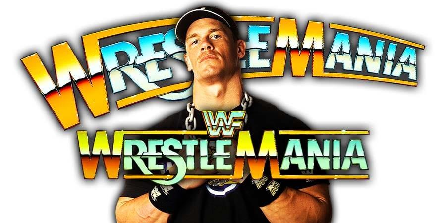 John Cena WrestleMania 35