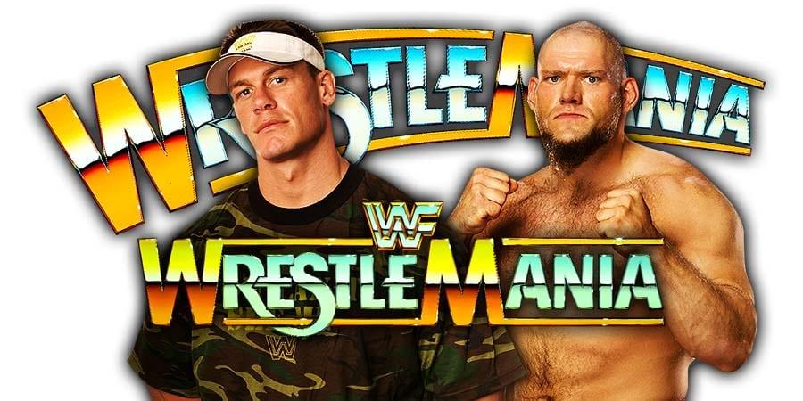 John Cena vs. Lars Sullivan - WrestleMania 35
