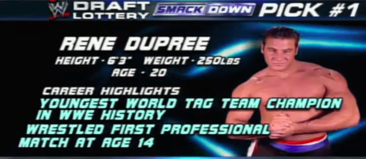 Renee Dupree WWE Record