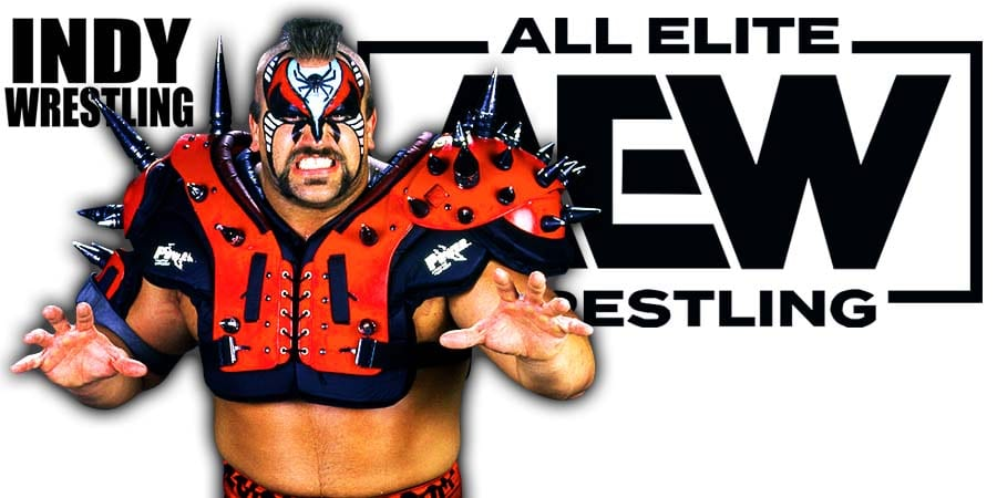 Road Warrior Animal AEW All Elite Wrestling