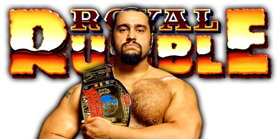 Rusev Royal Rumble