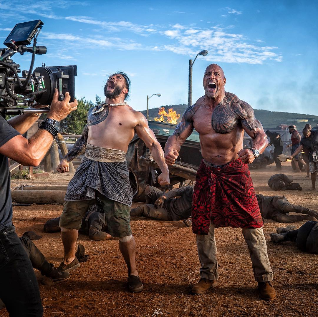 The Rock & Roman Reigns In Hobbs And Shaw