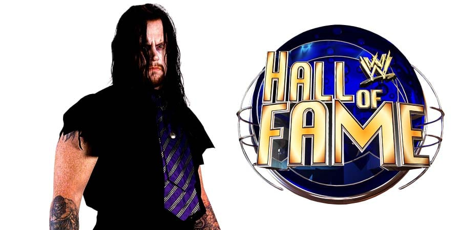 The Undertaker WWE Hall Of Fame Induction