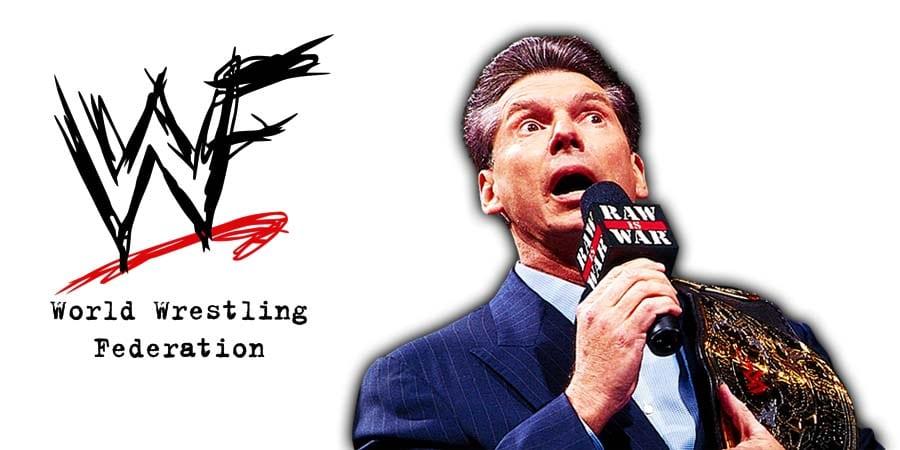 Vince McMahon WWF Smoking Skull Championship Belt