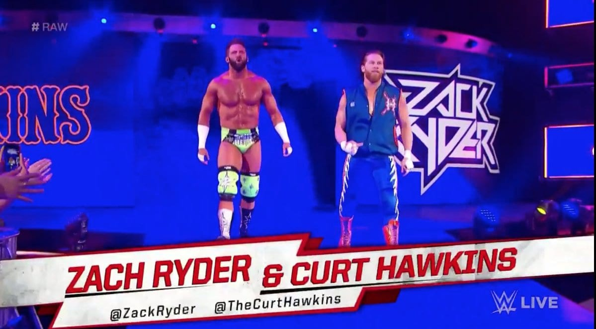 Zack Ryder's Name Botched On RAW - Zach Ryder (January 2019)