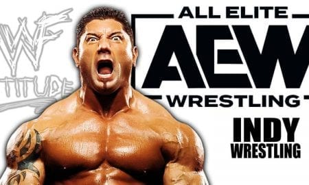 Batista AEW All Elite Wrestling