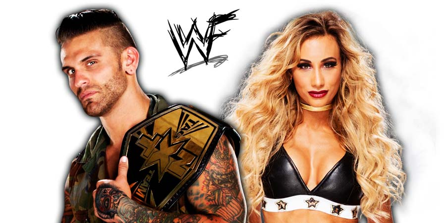 Corey Graves Carmella WWE Couple