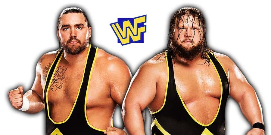 Heavy Machinery Otis Tucker WWE