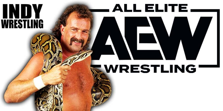 Jake Roberts AEW All Elite Wrestling Article Pic 1