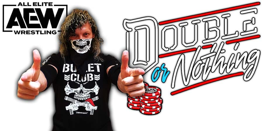 Kenny Omega AEW All Elite Wrestling Double Or Nothing