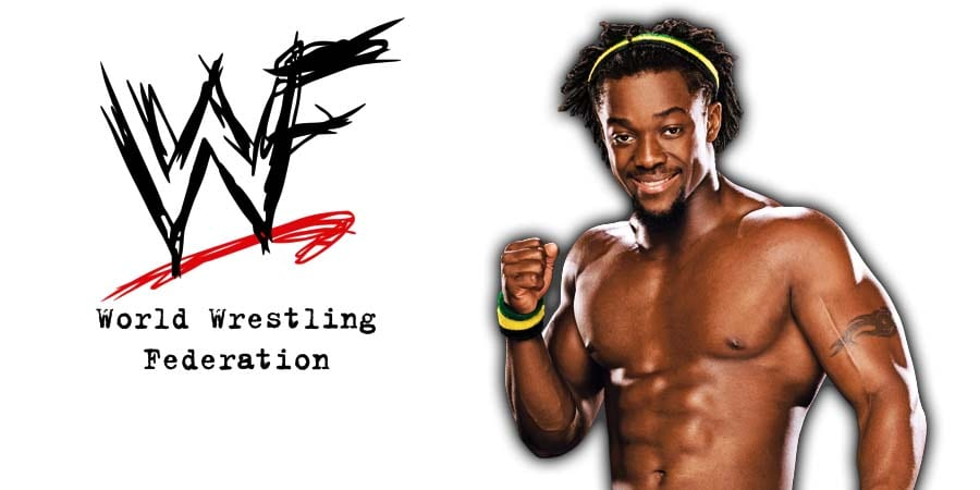 Kofi Kingston WWE WWF