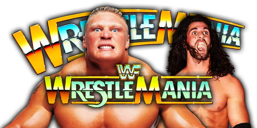 Seth Rollins vs. Brock Lesnar - WrestleMania 35