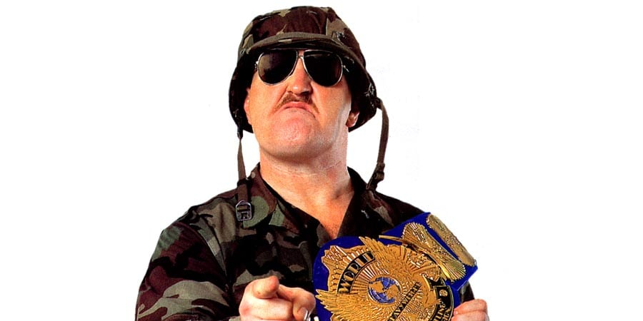 Sgt Slaughter WWF Champion