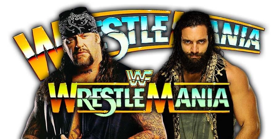 The Undertaker vs. Elias - WrestleMania 35
