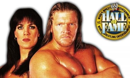 Triple H Chyna WWE Hall Of Fame