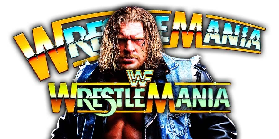 Triple H WrestleMania 35