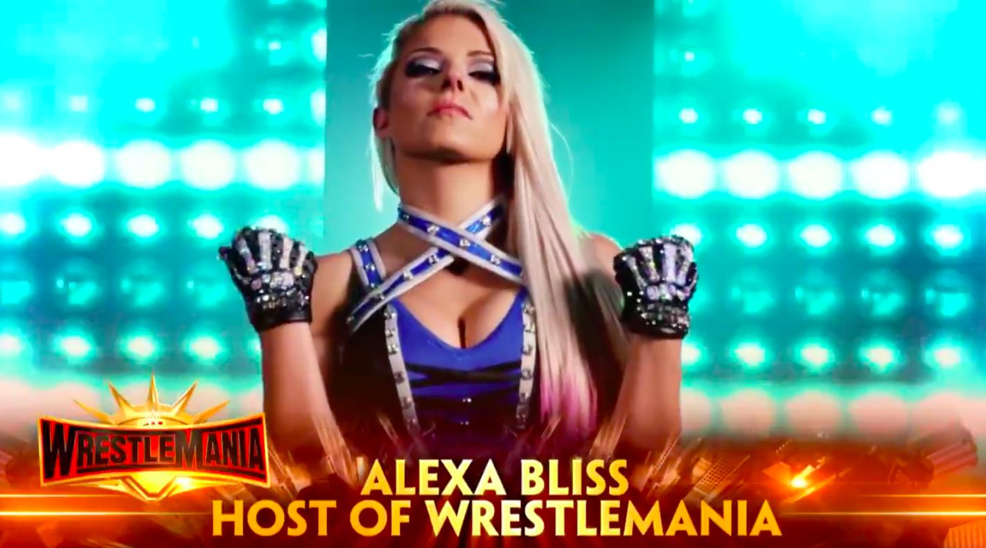 Alexa Bliss Host Of WrestleMania 35