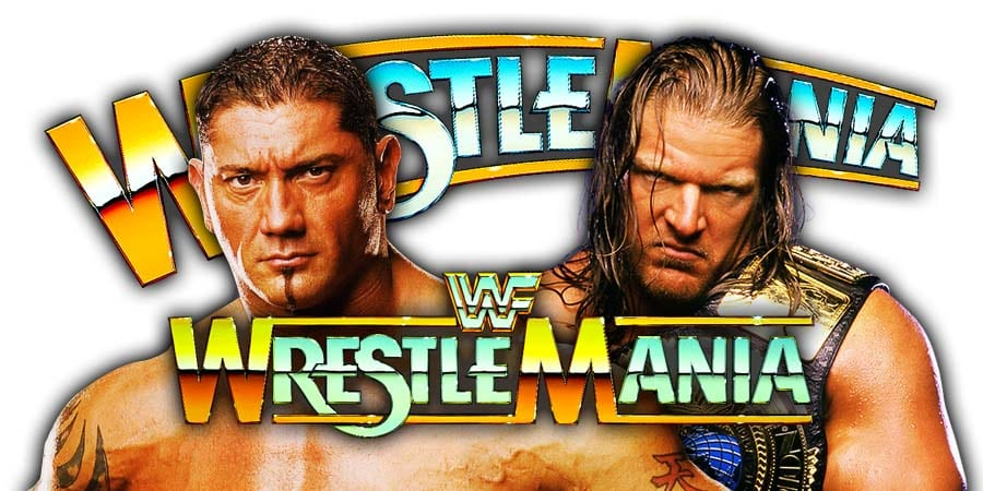 Batista vs. Triple H - WrestleMania 35 (Triple H's Career On The Line)
