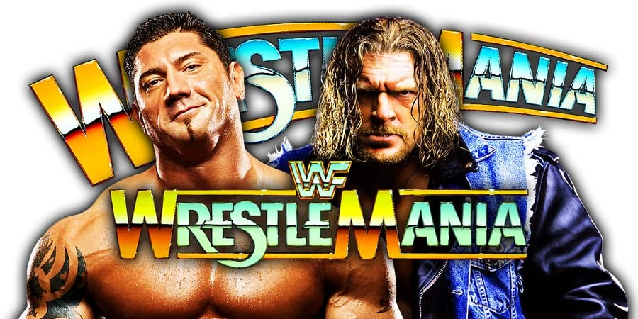 Batista vs. Triple H - WrestleMania 35