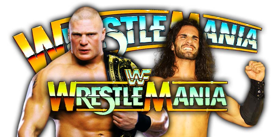 Brock Lesnar vs. Seth Rollins - WWE WrestleMania 35