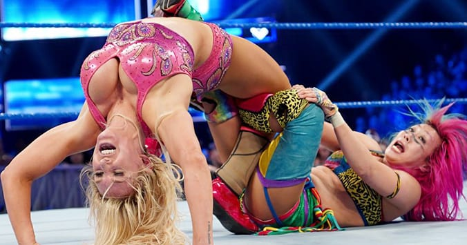 Charlotte Flair defeats Asuka to win SmackDown Women's Title before WrestleMania 35