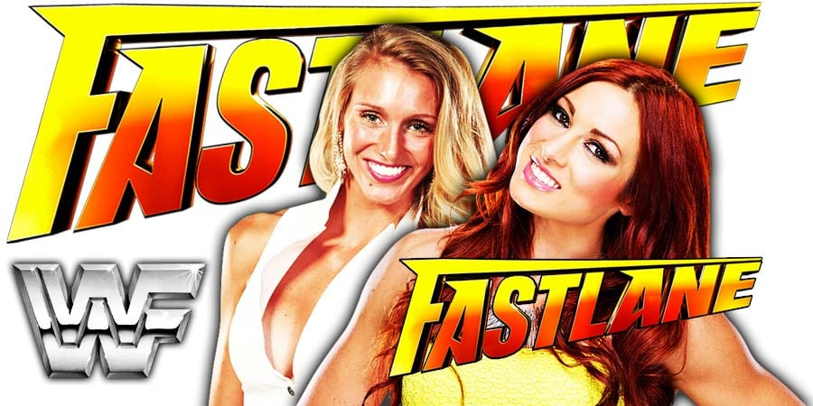 Charlotte Flair vs. Becky Lynch - FastLane 2019