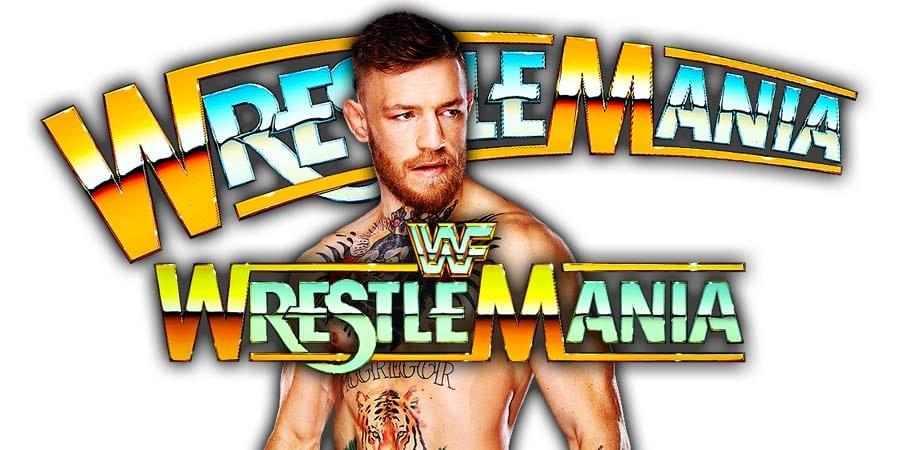 Conor McGregor WWE WrestleMania 35