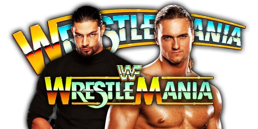 Drew McIntyre vs. Roman Reigns - WrestleMania 35