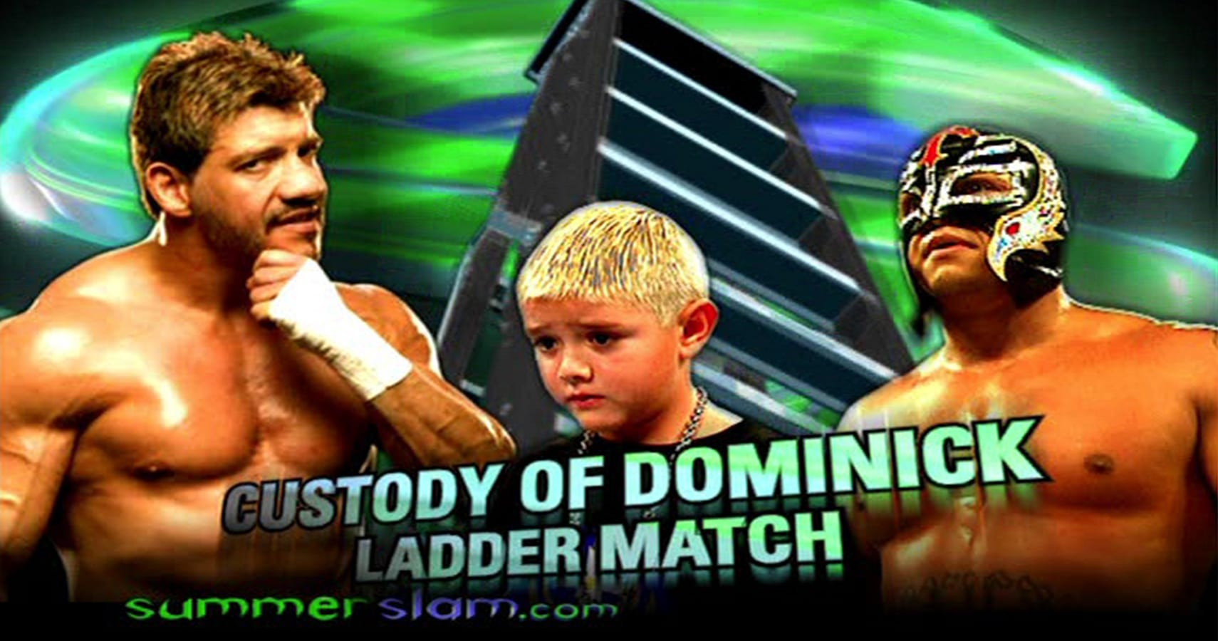 Eddie Guerrero vs. Rey Mysterio - SummerSlam 2005 (Ladder Match For Custody Of Dominic)