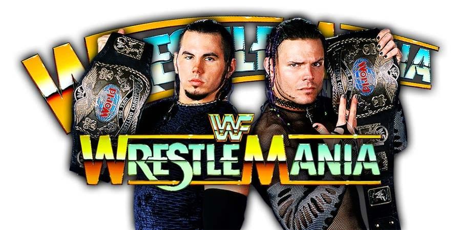 Hardy Boyz WrestleMania 35