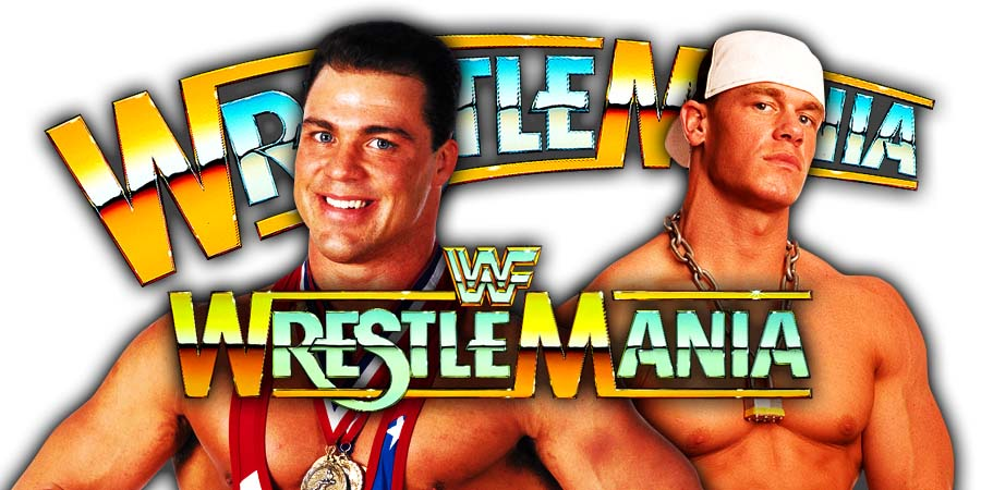 Kurt Angle vs. John Cena To Take Place At WrestleMania 35 In Angle's Farewell Match