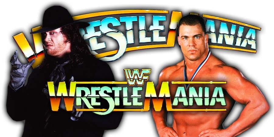 Kurt Angle vs. The Undertaker - WrestleMania 35