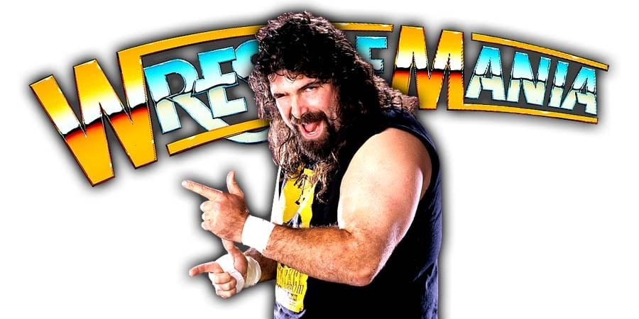 Mick Foley Cactus Jack Mankind WrestleMania