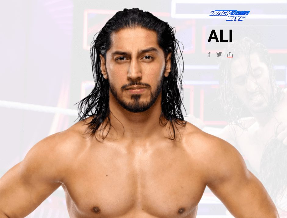 Mustafa Ali's Name Changed To Ali