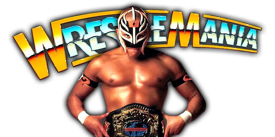 Rey Mysterio WrestleMania 35