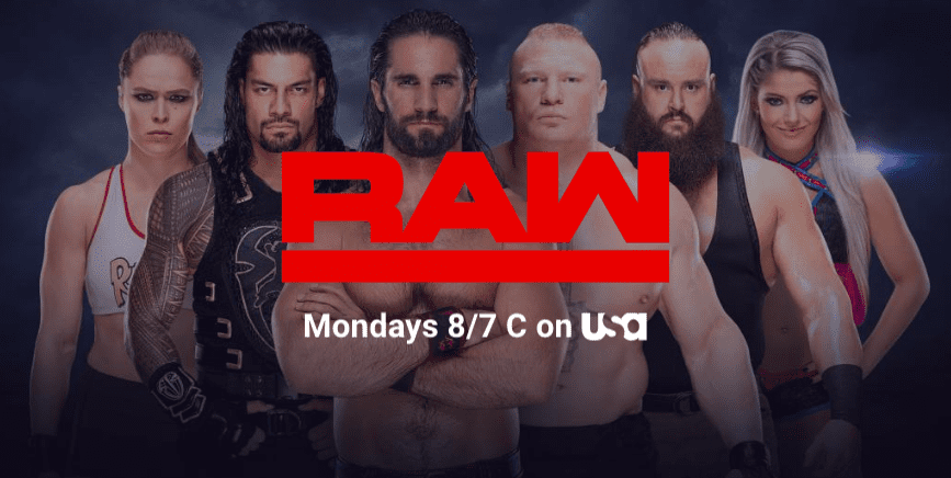 Roman Reigns Added Back To WWE RAW Banner March 2019