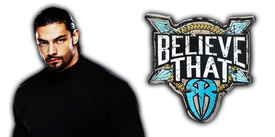 Roman Reigns Shield Believe That