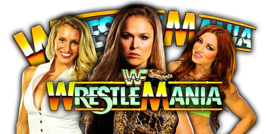 Ronda Rousey vs. Charlotte Flair vs. Becky Lynch - WrestleMania 35 Main Event Stipulation