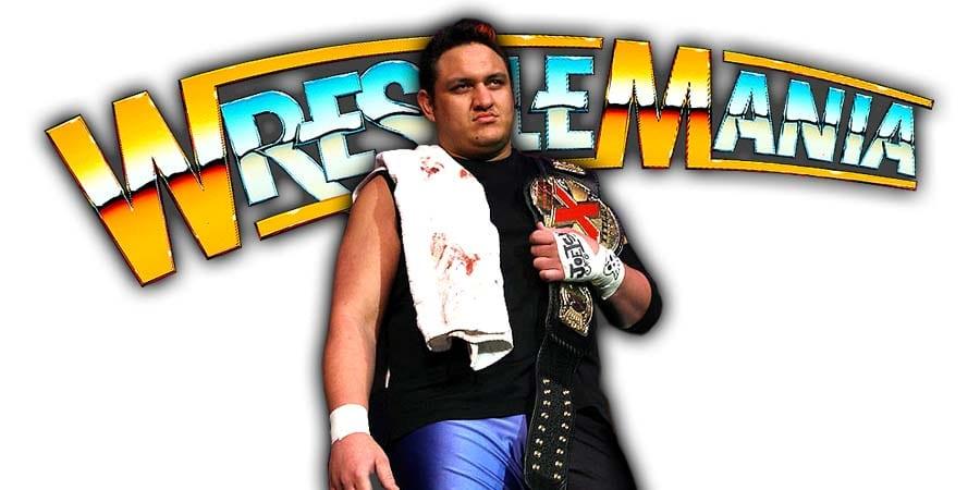 Samoa Joe WrestleMania 35