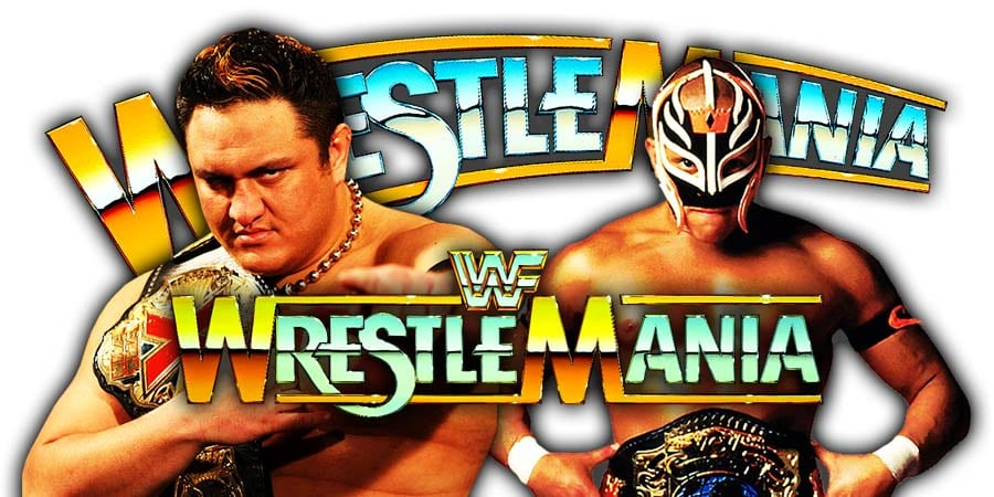 Samoa Joe vs. Rey Mysterio - WrestleMania 35 United States Championship Match