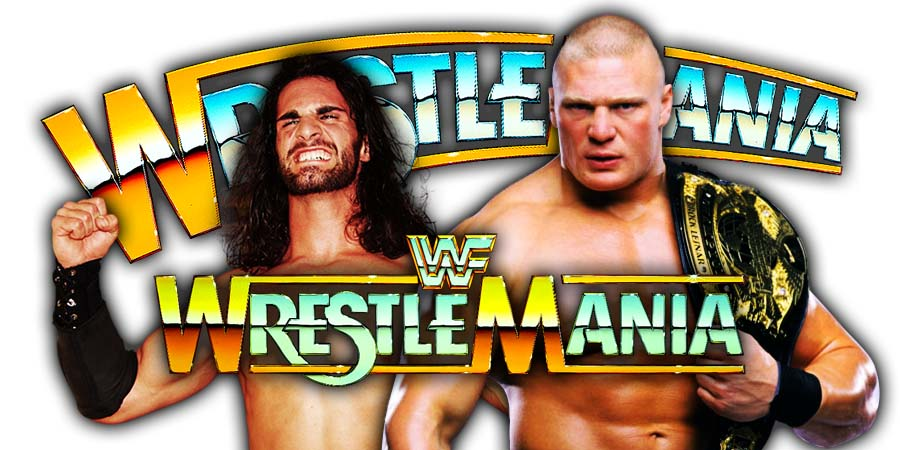 Seth Rollins vs. Brock Lensar - WrestleMania 35