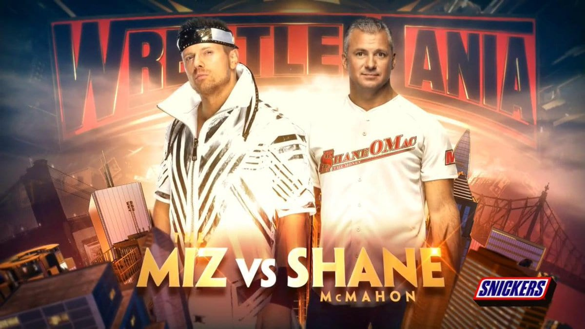 The Miz vs. Shane McMahon - WrestleMania 35