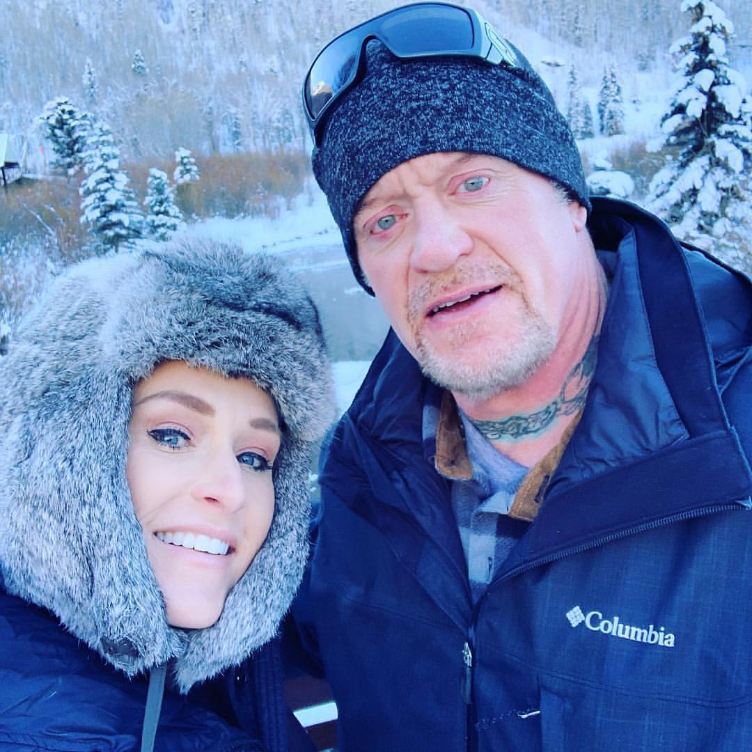 The Undertaker Michelle McCool In Ice