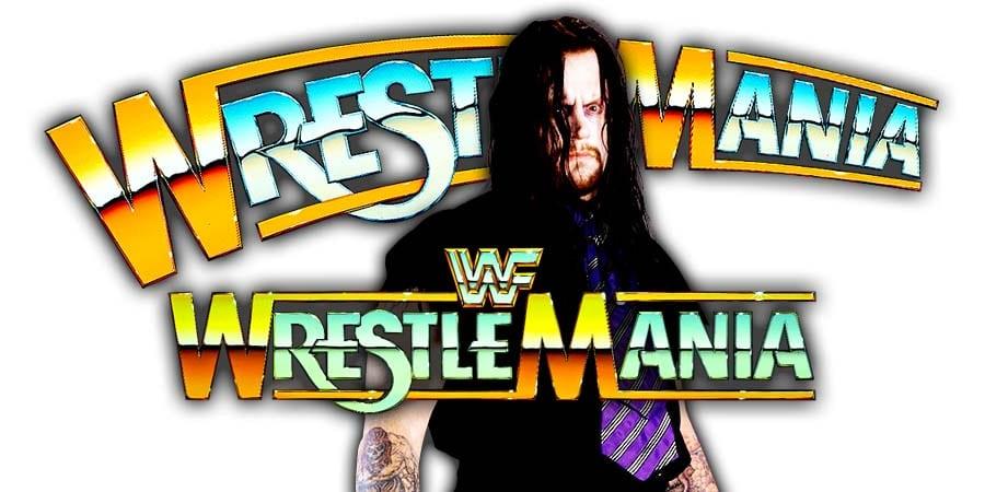 The Undertaker WrestleMania 35