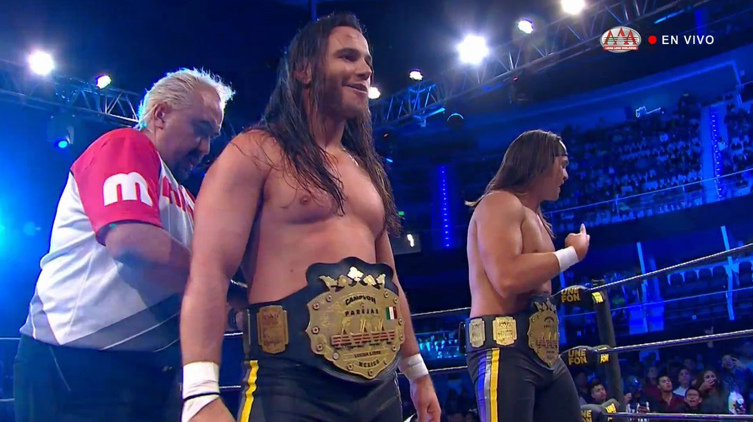 The Young Bucks Win AAA World Tag Team Championship
